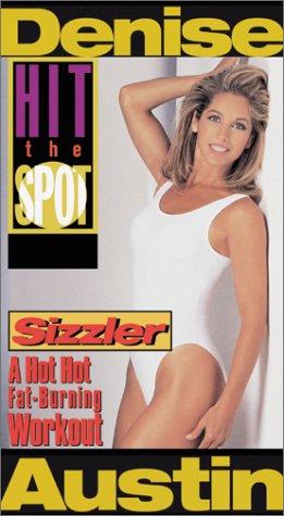 9780784017807: Denise Austin - Hit the Spot:Sizzler [VHS]