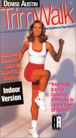 9780784017944: Denise Austin - Trimwalk:Indoor Version [VHS]