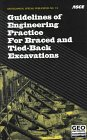 9780784402931: Guidelines of Engineering Practice for Braced and Tied-Back Excavations (Geotechnical Special Publication)