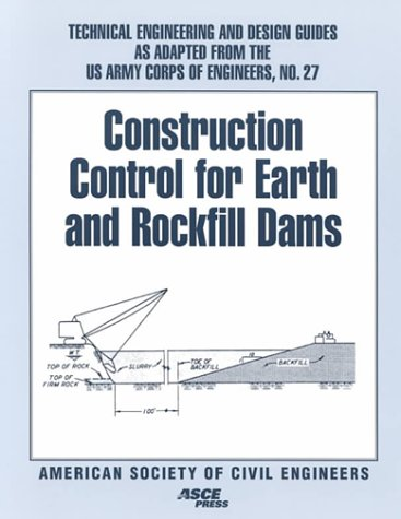 Construction Control for Earth and Rockfill Dams: Not Available