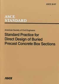 Standard Practice for Direct Design of Buried Precast Concrete Box Sections: Not Available (NA)