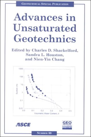 9780784405109: Advances in Unsaturated Geotechnics: Proceedings of Sessions of Geo-Denver 2000 : August 5-8, 2000, Denver, Colorado (Geotechnical Special Publication)
