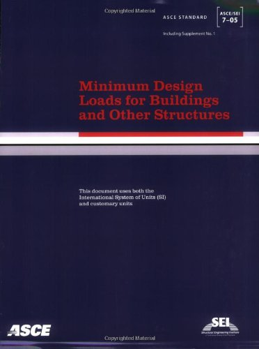 9780784408094: Minimum Design Loads for Buildings And Other Structures: SEI/ASCE 7-05 (ASCE Standard No. 7-05)