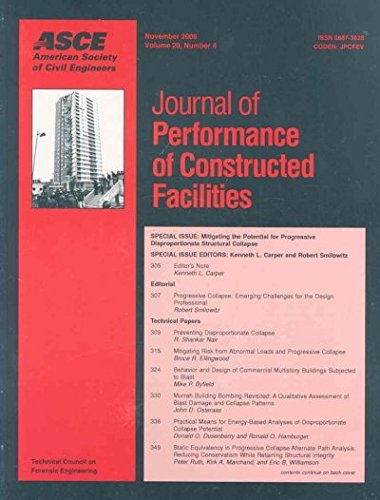 9780784408926: Mitigating the Potential for Progressive Disproportionate Structural Collapse: 20