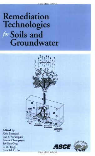 9780784408940: Remediation Technologies for Soils and Groundwater