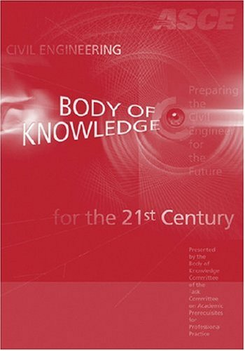 9780784409657: Civil Engineeringt Body of Knowledge for the 21st Century, Second Edition