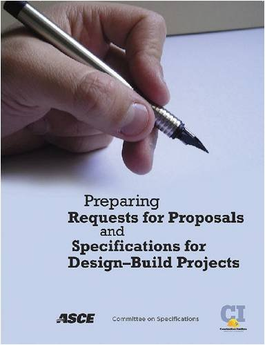 9780784409879: Preparing Requests for Proposals and Specifications for Design-Build Projects