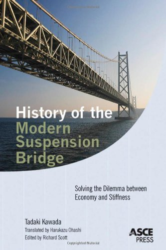 9780784410189: History of the Modern Suspension Bridge: Solving the Dilemma between Economy and Stiffness