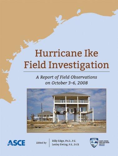 9780784411209: Hurricane Ike Field Assessment Team: Field Observations on October 3-6, 2008