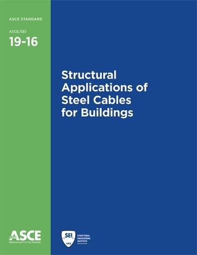 9780784414392: Structural Applications of Steel Cables for Buildings (Standards)