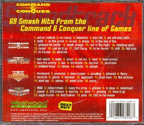 9780784528846: Command & Conquer Soundtrack Collection