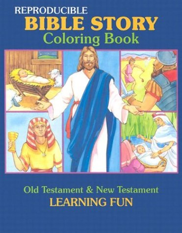 Bible Story Coloring Book (Reproducible Classroom Coloring Books Series): Standard Publishing