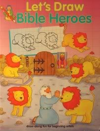 9780784702185: Let's Draw Bible Heros