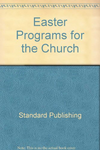 9780784703052: Easter Programs for the Church