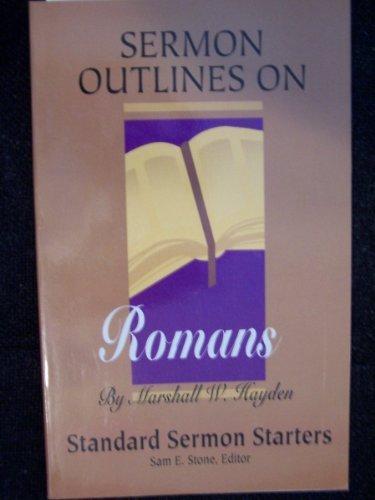 9780784705261: Standard Sermon Starters-Roman: