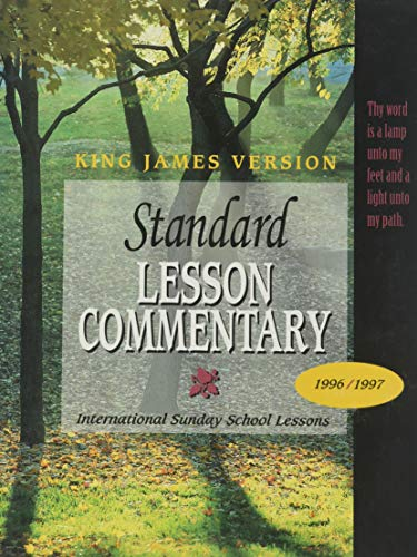 9780784705469: Standard Lesson Commentary 96-97: King James Version (Standard Lesson Commentary (KJV Hardcover))