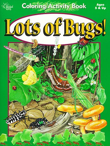 Lots of Bugs! (Coloring and Activity Books)