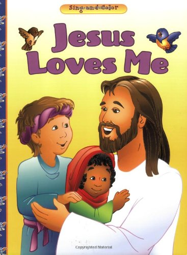 9780784711934: Jesus Loves Me (Bean Sprouts Coloring Books)