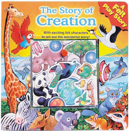 The Story of Creation (A Felt Play Storybook): Publishing, Standard