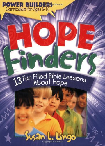 bible lesson on hope for children