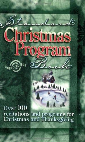 9780784712955: Standard Christmas Program Book