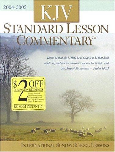 KJV Standard Lesson Commentary 2004-2005: International Sunday: Davis, Ronald G.
