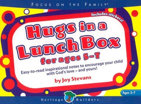 9780784713624: Hugs in a Lunch Box: For Ages 5-7 [With Stickers]