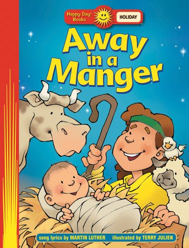 9780784715475: Away in a Manger (Happy Day® Books: Holiday & Seasonal)