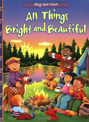 9780784715888: All Things Bright and Beautiful (16-Page Coloring Books)