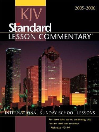 KJV Standard Lesson Commentary 2005-2006: International Sunday: Nickelson, Ronald L.
