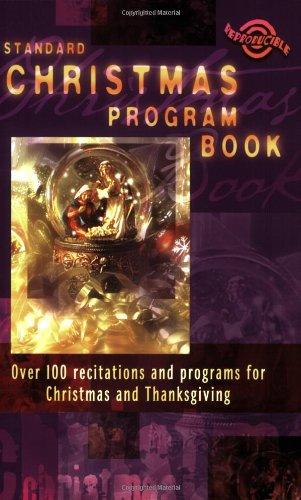 9780784716137: Standard Christmas Program Book (Holiday Program Books)