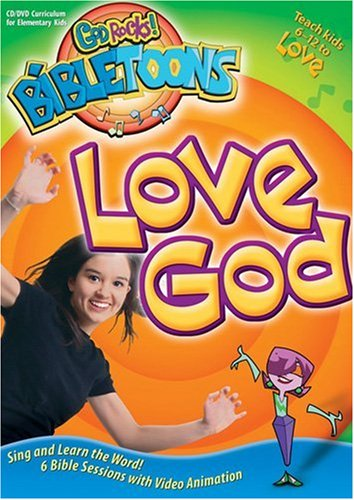 9780784716229: Love God (God Rocks!® BibleToons™)