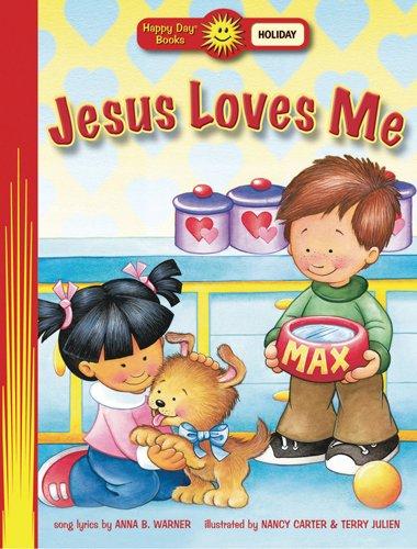 9780784718049: Jesus Loves Me (Happy Day® Books: Holiday & Seasonal)