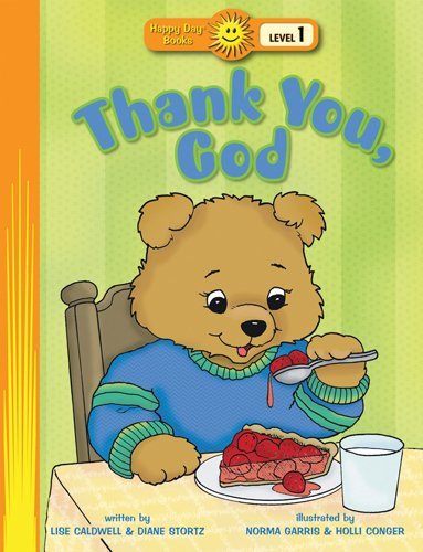 9780784719367: Thank You, God (Happy Day® Books: Level 1)