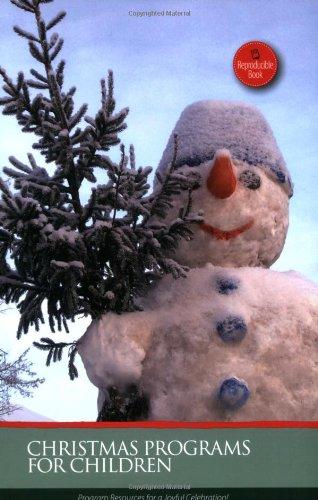 9780784719411: Christmas Programs for Children (Holiday Program Books)