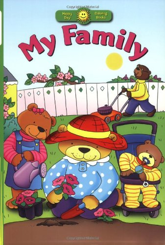 9780784720196: My Family (Happy Day® Coloring Books: Values)