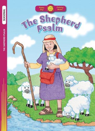 9780784720400: The Shepherd Psalm (Happy Day® Coloring Books: Seasonal)