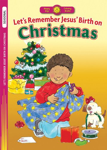9780784720554: Let's Remember Jesus' Birth on Christmas (Happy Day® Coloring Books: Seasonal)