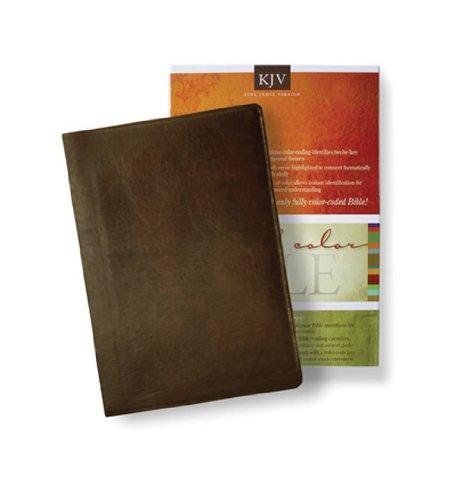 9780784721650: King James Version-Bonded Leather (Brown) (Standard Full Color Bible)