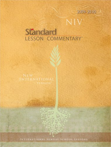 9780784722541: NIV Standard Lesson Commentary (International Sunday School Lessons)