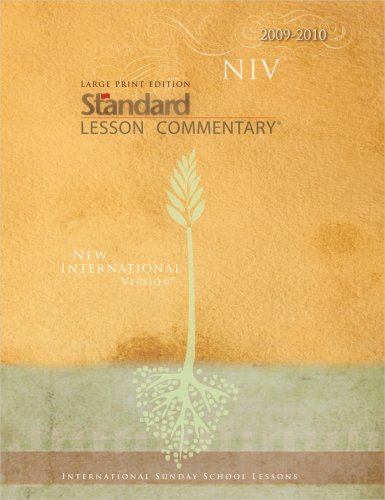 9780784722596: Large Print Edition NIV Standard Lesson Commentary