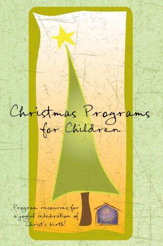 Christmas Programs for Children (Holiday Program Books): Publishing, Standard