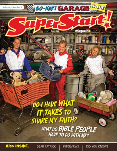 9780784722749: Go-Kart Garage Sale Student Magazine (SuperStart: A PreTeen Curriculum)