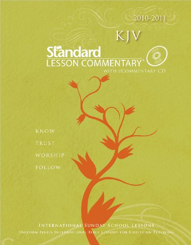 KJV Standard Lesson Commentary with eCommentary 2010-2011 (0784723494) by Standard Publishing