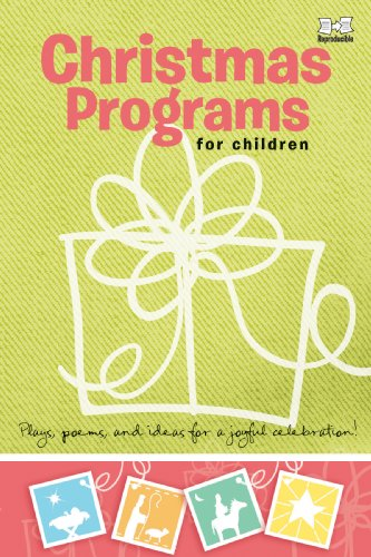 9780784723548: Christmas Programs for Children: Plays, poems, and ideas for a joyful celebration! (Holiday Program Books)