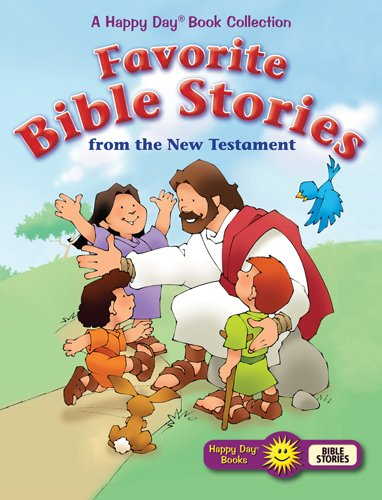 9780784729397: Favorite Bible Stories from the New Testament (Happy Day® Books)