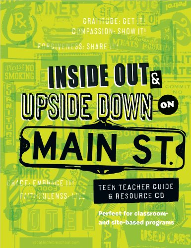 9780784730102: Main St. Vbs Teen Teacher Guide & Resource CD (Inside Out & Upside Down on Main Street)