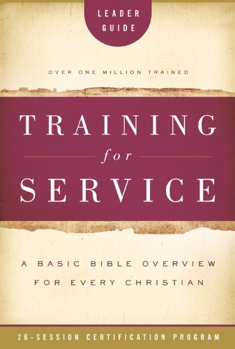 Training for Service Leader Guide (0784733007) by Eichenberger, Jim; Root, Orrin; Daniel, Eleanor; Sharp, Cecil James (C. J.); Moninger, Herbert