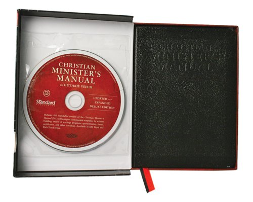 Christian Minister's Manual--Updated and Expanded Deluxe Edition (Hardcover): Guthrie Veech