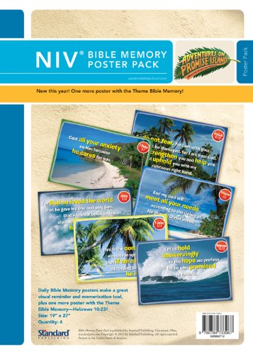 Bible Memory Poster Pack—NIV® (Vacation Bible School 2012: Adventures on Promise Island): ...